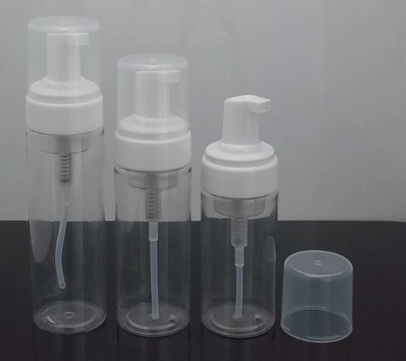 Liquid Bottle Pet Pump Cap Spray Bottle with Atomizer